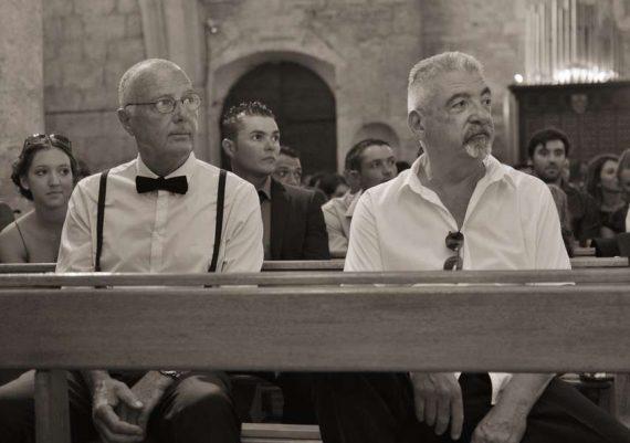 les papas des mariés